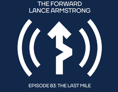 The Forward Lance Armstrong Podcast logo