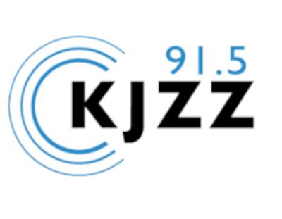 KJZZ 91.5 logo.